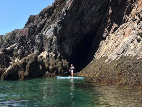 Smugglers Cove Paddleboarding